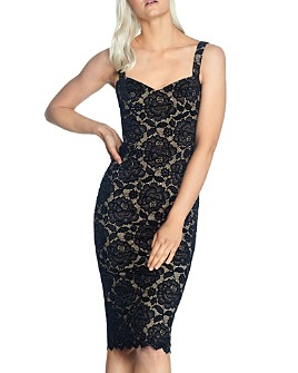 Dress the Population - Nicole Lace Dress