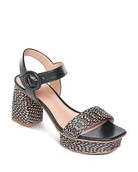 Bernardo - Women's Reagan Raffia Platform Sandals