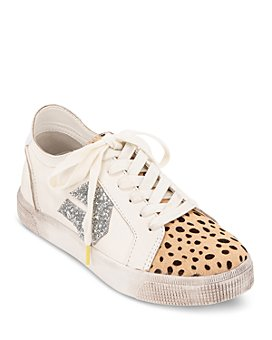 Dolce Vita - Women's Zeph Mixed-Media Platform Sneakers - 100% Exclusive