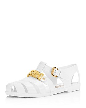 Moschino - Women's Jelly Logo Sandals
