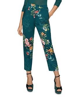 BCBGENERATION - Floral Straight-Leg Pants