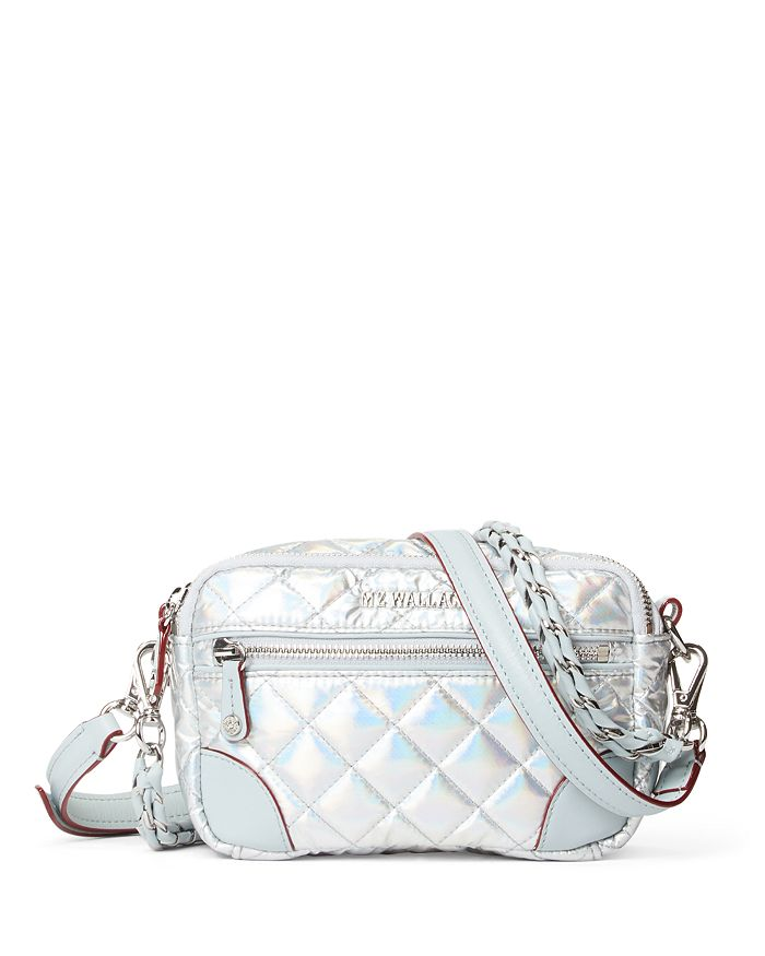 MZ WALLACE - Mini Metallic Crosby Crossbody