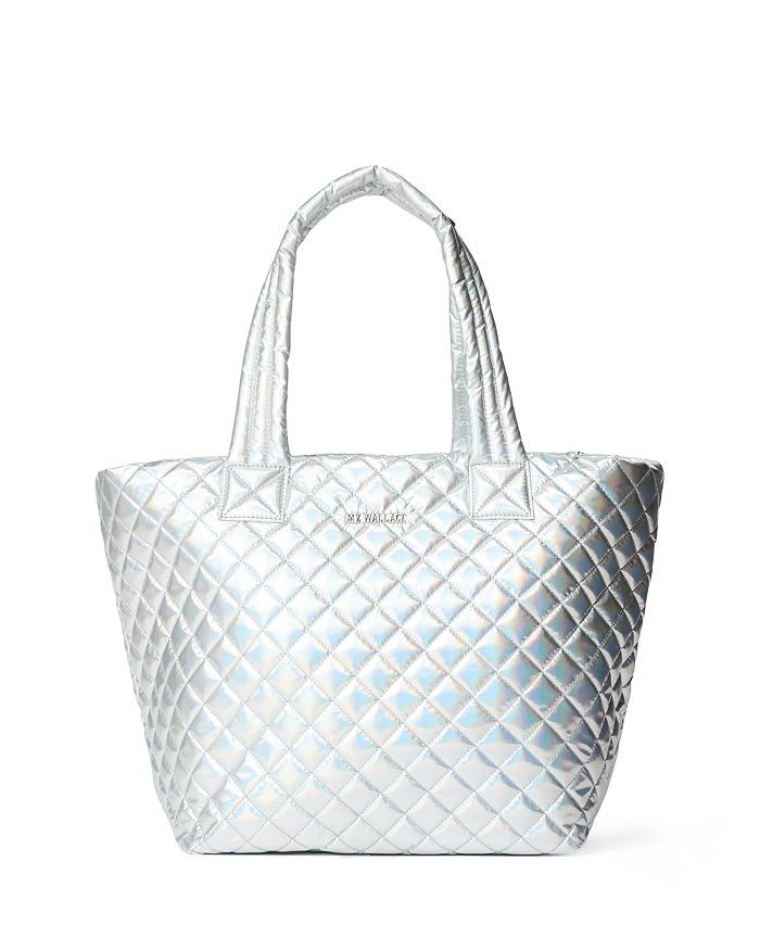 MZ WALLACE - Metallic Medium Metro Tote