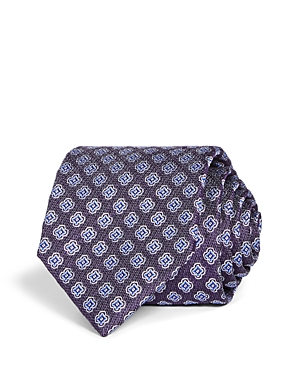 The Men's Store at Bloomingdale's Florette Woven Silk Classic Tie - 100% Exclusive