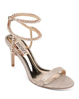 Badgley Mischka - Women's Claudette Crystal-Embellished Strappy High-Heel Sandals