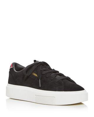 Sleek Super Platform Low-Top Sneakers
