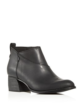 TOMS - Women's Lelani Block-Heel Booties