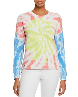 AQUA - Tie-Dye High/Low Sweater - 100% Exclusive