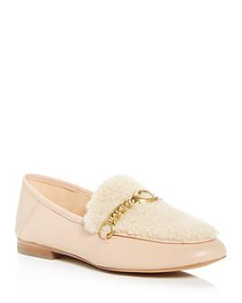COACH - Women's Helena Shearling Convertible Loafers