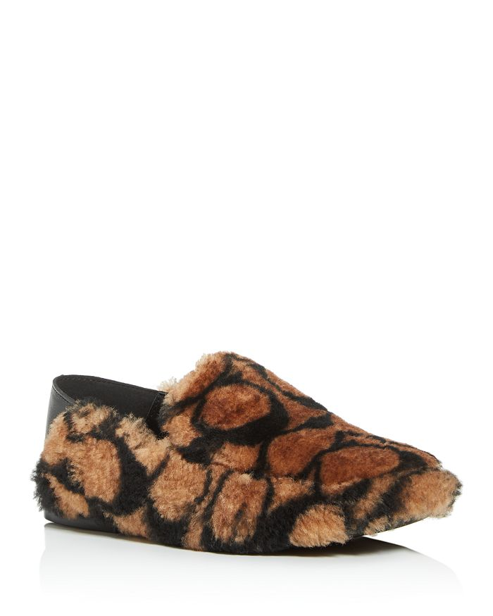 COACH - Women's Holly Logo Shearling Loafers