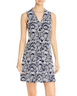 Tommy Bahama - Sleeveless Shell-Print Dress