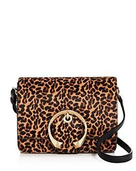 Jimmy Choo - Madeline Leopard-Print Shoulder Bag