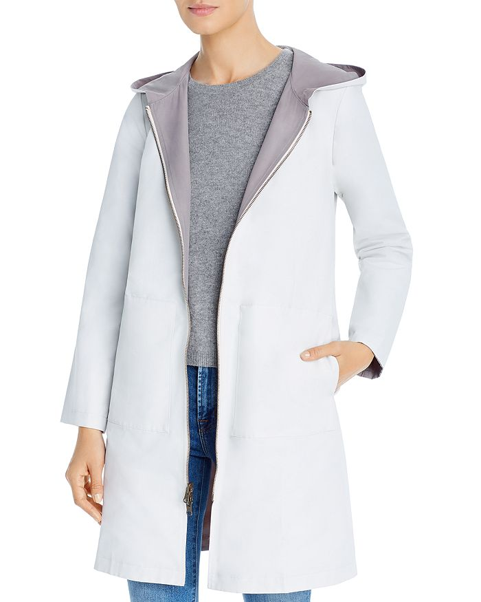 Eileen Fisher Petites - Hooded Reversible Jacket