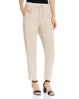 Eileen Fisher - Tapered Drawstring Ankle Pants