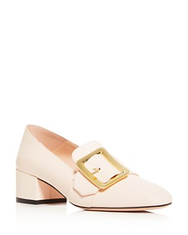 Bally - Women's Janelle Buckle Square-Toe Pumps
