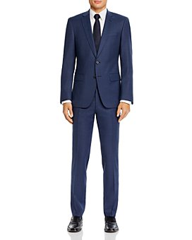 BOSS - Huge/Genius Small Tonal Check Slim Fit Suit