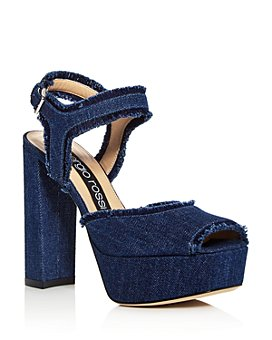 Sergio Rossi - Women's Monica High Block-Heel Platform Sandals