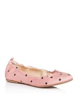 Charlotte Olympia - Women's Kitty Ballet Flats