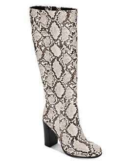 Kenneth Cole - Women's Justin Snake-Print Tall Boots