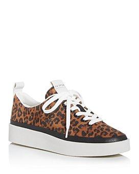Via Spiga - Women's V-Mae Leopard-Print Platform Sneakers