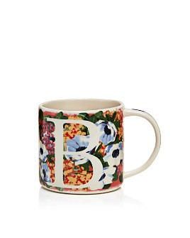 Anthropologie Home - Dawn Monogram Mug