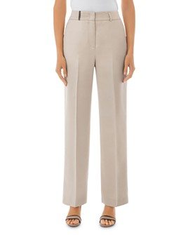 Peserico - Center-Creased Wide-Leg Pants