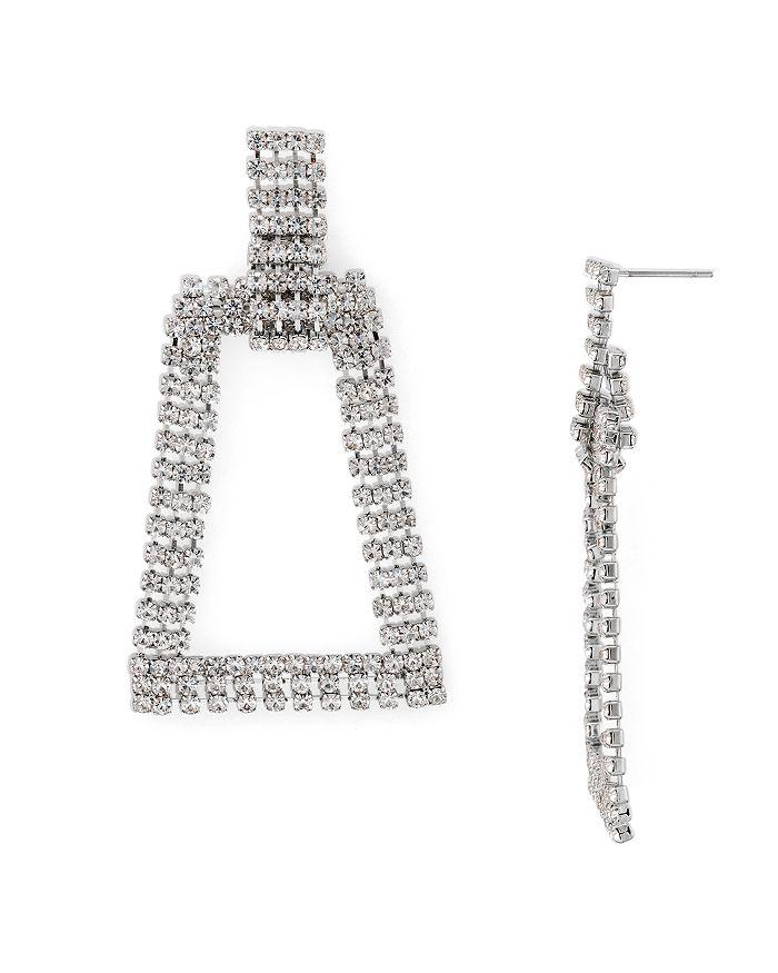 AQUA - Open Geometric Hoop Drop Earrings - 100% Exclusive