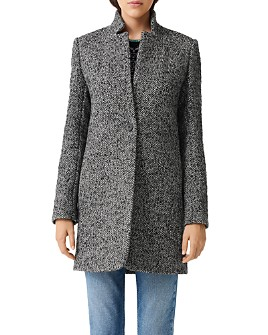 Maje - Galron Herringbone Coat