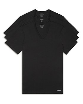 Calvin Klein - Short-Sleeve V-Neck Tee - Pack of 3