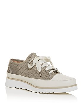 Donald Pliner - Women's Flipp Perforated Low-Top Platform Sneakers