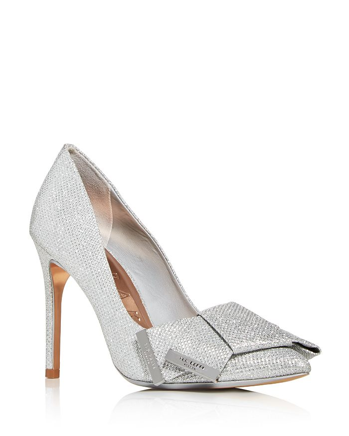 Ted Baker - Women's Iinesm Glitter Pointed-Toe Pumps