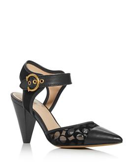 COACH - Women's Wren Mesh Pointed-Toe Pumps