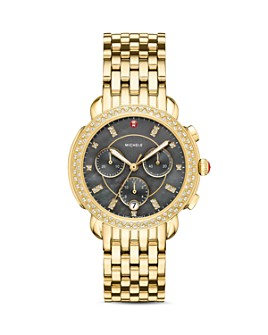 MICHELE - Special-Edition Sidney Diamond Chronograph, 38mm