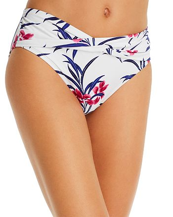 Tommy Bahama - Oasis High-Waist Twist Front Bikini Bottom