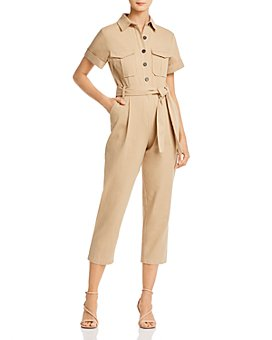 Re:Named - Belted Cropped Boilersuit