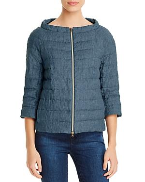 Herno Linen Down Jacket-Women