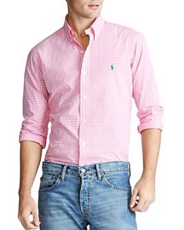 Polo Ralph Lauren - Classic Fit Gingham Button-Down Oxford Shirt