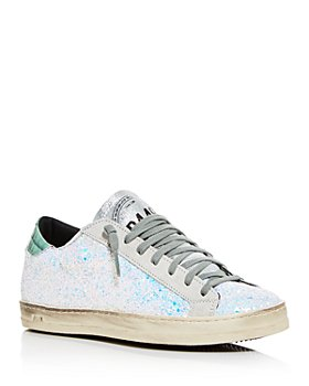 P448 - Women's John Embellished Low-Top Sneakers