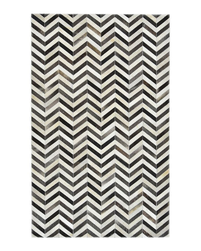 Timeless Rug Designs - Logan Cowhide S3073 Area Rug, 8' x 10' - 100% Exclusive