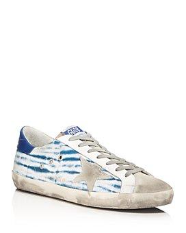 Golden Goose Deluxe Brand - Unisex Superstar Tie-Dye Canvas Sneakers - 100% Exclusive