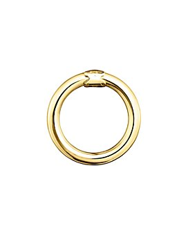TOUS - 18K Yellow Gold-Plated Sterling Silver Medium Hold Ring Pendant