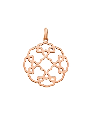 Tous 18K Rose Gold-Plated Sterling Silver Mosaic Pendant