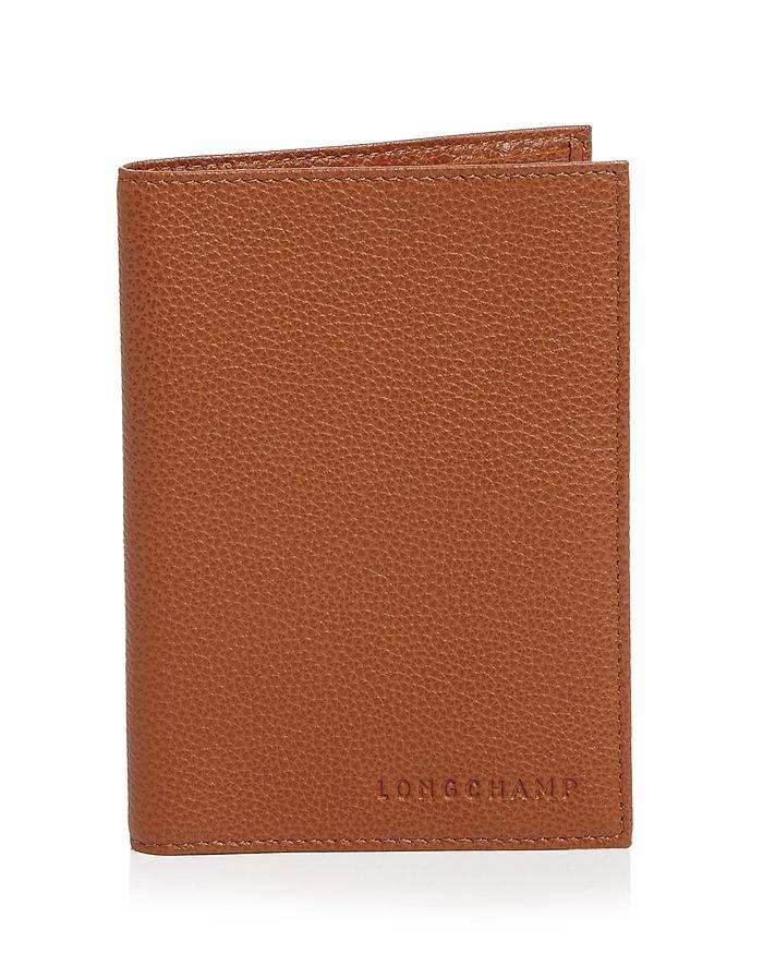 Longchamp - Le Foulonné Passport Wallet