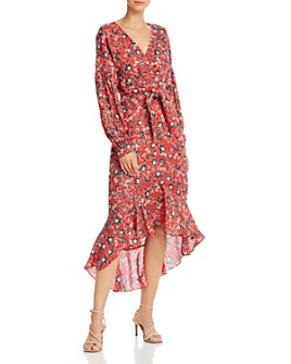 Parker - Kinsale Floral Silk Midi Dress