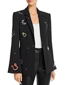 Cinq à Sept - Astro Rumi Embroidered Blazer