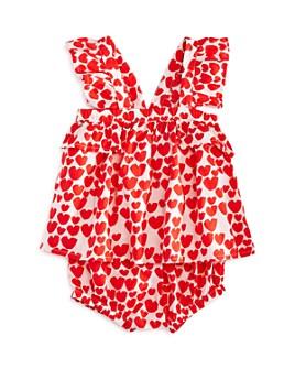 Stella McCartney - Girls' Heart Print Top & Heart Print Bloomers Set - Baby