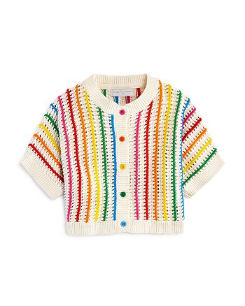 Stella McCartney - Girls' Rainbow-Stripe Cardigan - Baby