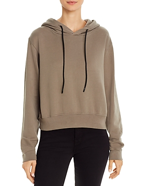Cotton Citizen MILAN CROPPED HOODED SWEATSHIRT