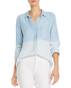 Dip-Dye Chambray Shirt