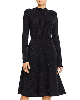 525 America - Fit-and-Flare Sweater Dress